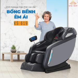 ghế massage phổ thông ks 619
