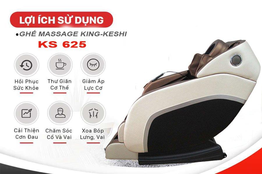 lợi ích khi sử dụng ghế massage ks 625