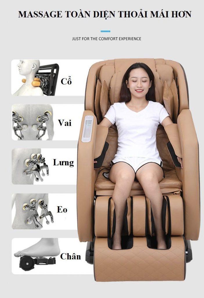 ghế massage toàn thân KS 818 lập trình tự động