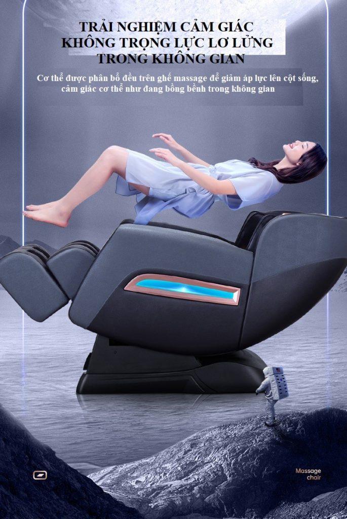 Chế-độ-ZERO-GRAVITY của ghế massage toàn thân 4D KS 826