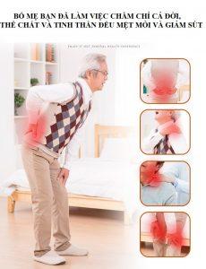 đừng để bố khổ sở vì đau xương khớp