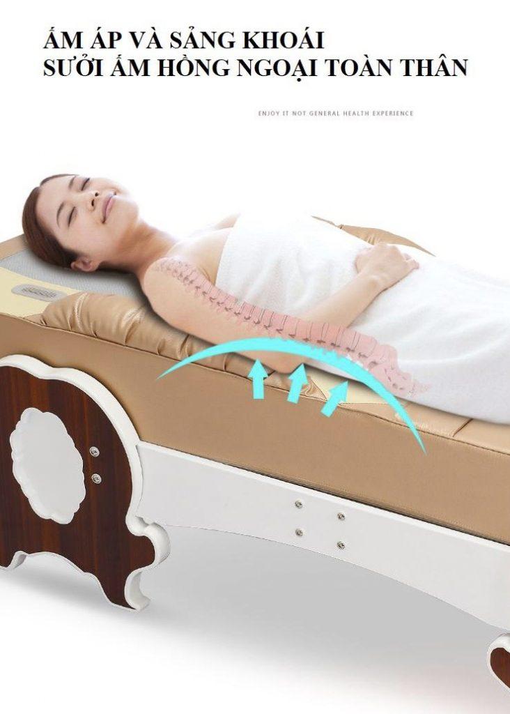 hồng ngoại Giường Massage Toàn Thân KS 601
