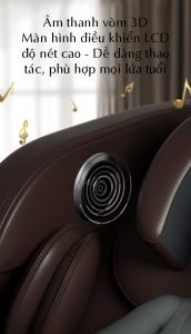 loa HIFI ghế massage toàn thân luxury 4D KS 828